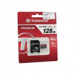 Memorijska kartica (128Gb) C10 MicroSD i adapter - Transcend