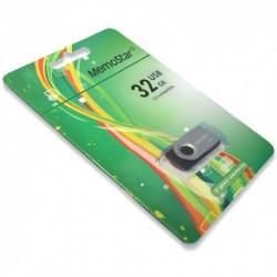 USB (flash) memorija (32Gb) MemoStar Rota - srebrna