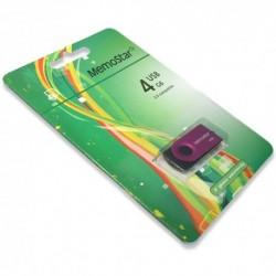USB (flash) memorija (4Gb) MemoStar Rota - pink