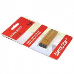 USB (flash) memorija (8Gb) MemoStar Cuboid - zlatna