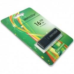 USB (flash) memorija (16Gb) MemoStar Cuboid - crna