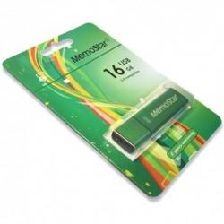 USB (flash) memorija (16Gb) MemoStar Cuboid - zelena