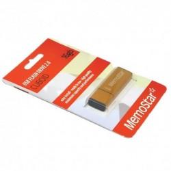 USB (flash) memorija (16Gb) MemoStar Cuboid - zlatna