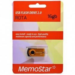 USB (flash) memorija (16Gb) MemoStar Rota - zlatna