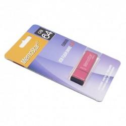 USB (flash) memorija (64Gb) 3.0 MemoStar Cuboid - pink