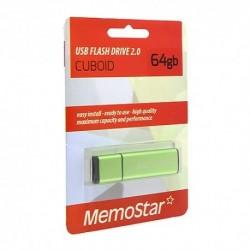 USB (flash) memorija (64Gb) MemoStar Cuboid - zelena