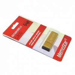 USB (flash) memorija (64Gb) MemoStar Cuboid - zlatna