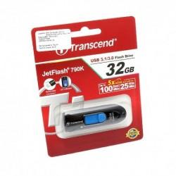 USB (flash) memorija (32Gb) 3.1 Transcend - plava
