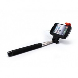 Selfi (selfie) štap/držač (3,5 mm) - crna
