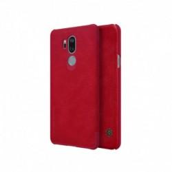 Futrola za LG G7 ThinQ preklop bez magneta bez prozora Nillkin Qin - crvena