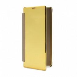 Futrola za Samsung Galaxy Note 9 preklop bez magneta bez prozora See - zlatna