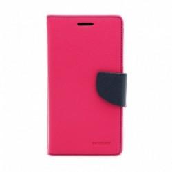 Futrola za Huawei Mate 10 lite preklop sa magnetom bez prozora Mercury - pink