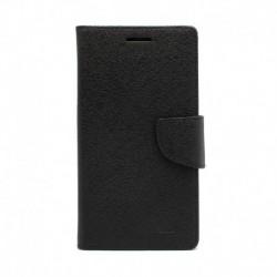 Futrola za iPhone XS Max preklop sa magnetom bez prozora Mercury - crna