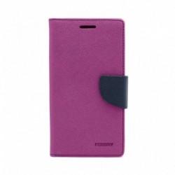 Futrola za Nokia 5.1 preklop sa magnetom bez prozora Mercury - ljubičasta