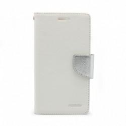 Futrola za Samsung Galaxy A5 (2018)/A8 (2018) preklop sa magnetom bez prozora Mercury - bela