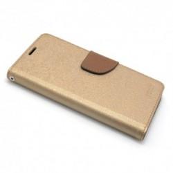 Futrola za Huawei P20 lite preklop sa magnetom bez prozora Mercury - zlatna