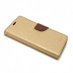 Futrola za Motorola Moto G5s preklop sa magnetom bez prozora Mercury - zlatna