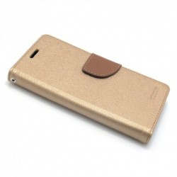 Futrola za Sony Xperia XA2 preklop sa magnetom bez prozora Mercury - zlatna