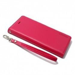 Futrola za iPhone 7 Plus/8 Plus preklop bez magneta bez prozora Hanman - pink