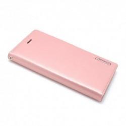 Futrola za Nokia 6 (2018)/6.1 preklop bez magneta bez prozora Hanman - svetlo roza