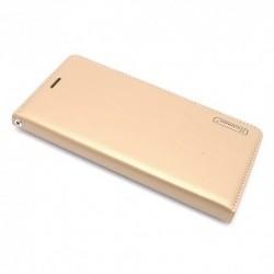 Futrola za Nokia 7 Plus preklop bez magneta bez prozora Hanman - zlatna