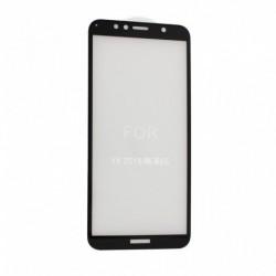 Zaštitno staklo za Huawei Y6 (2018)/Y6 Prime (2018)/Honor 7A/7A Pro (zakrivljeno 5D) G - crna