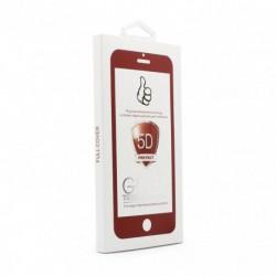 Zaštitno staklo za iPhone 6/6s (zakrivljeno 5D) G - bela