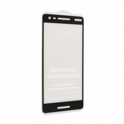 Zaštitno staklo za Nokia 2.1 (zakrivljeno 5D) G - crna
