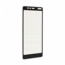 Zaštitno staklo za Nokia 5.1 (zakrivljeno 5D) G - crna
