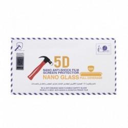 Zaštitno staklo za iPhone 7 Plus/8 Plus (zakrivljeno 5D) Pancir - crna