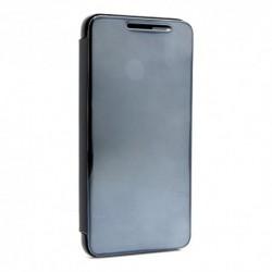 Futrola za Huawei Honor 8X preklop bez magneta bez prozora Clear view - crna