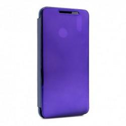 Futrola za Huawei Honor 8X preklop bez magneta bez prozora Clear view - ljubičasta