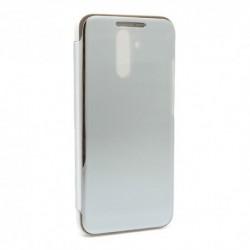 Futrola za Huawei Mate 20 Lite preklop bez magneta bez prozora Clear view - srebrna
