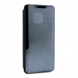 Futrola za Huawei Mate 20 Pro preklop bez magneta bez prozora Clear view - crna
