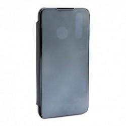 Futrola za Huawei P30 lite/Nova 4e preklop bez magneta bez prozora Clear view - crna