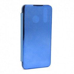 Futrola za Huawei P30 lite/Nova 4e preklop bez magneta bez prozora Clear view - teget