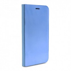 Futrola za iPhone 6/6s preklop bez magneta bez prozora Clear view - teget