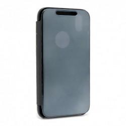 Futrola za iPhone XR preklop bez magneta bez prozora Clear view - crna