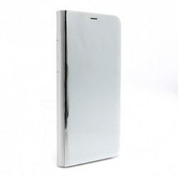 Futrola za Samsung Galaxy S8 Plus preklop bez magneta bez prozora Clear view - srebrna