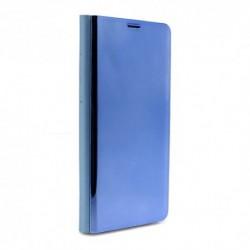 Futrola za Samsung Galaxy S9 preklop bez magneta bez prozora Clear view - teget