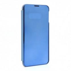 Futrola za Samsung Galaxy S10e preklop bez magneta bez prozora Clear view - teget