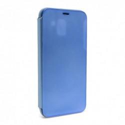 Futrola za Samsung Galaxy J6 preklop bez magneta bez prozora Clear view - teget
