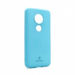 Futrola za Motorola Moto E5/G6 Play leđa Giulietta - mat svetlo plava