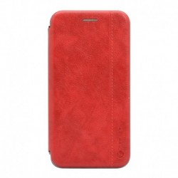 Futrola za iPhone XR preklop bez magneta bez prozora Teracell leather - crvena