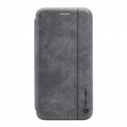 Futrola za iPhone XR preklop bez magneta bez prozora Teracell leather - siva