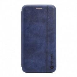 Futrola za iPhone XS Max preklop bez magneta bez prozora Teracell leather - plava