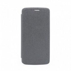 Futrola za Motorola Moto Z preklop bez magneta bez prozora Nillkin sparkle - crna
