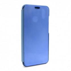 Futrola za Huawei P20 lite preklop bez magneta bez prozora Clear view - teget