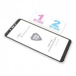 Zaštitno staklo za Samsung Galaxy A6s (2,5D) - crna