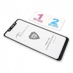Zaštitno staklo za Xiaomi Redmi Note 6 Pro (2,5D) - crna